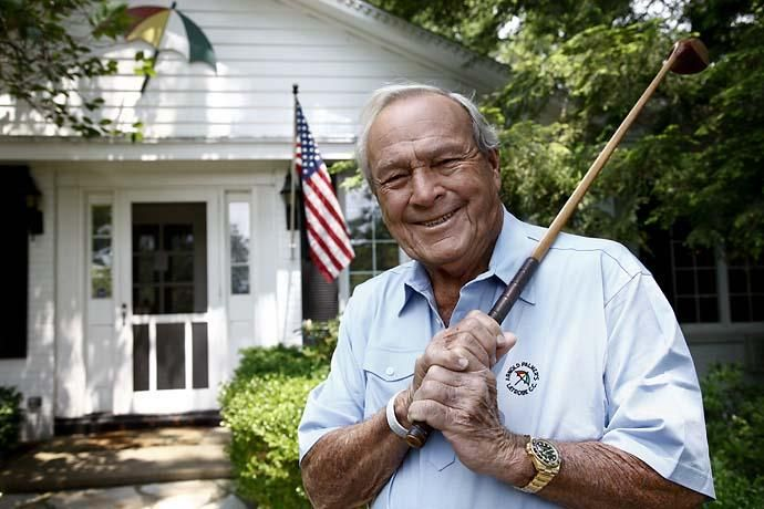 Arnold Palmer at his home in Latrobe, Pa., in June 2011 Love Mr. Palmer! He is the epitome of class.