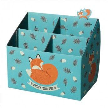 Rusty The Fox Pencil Box