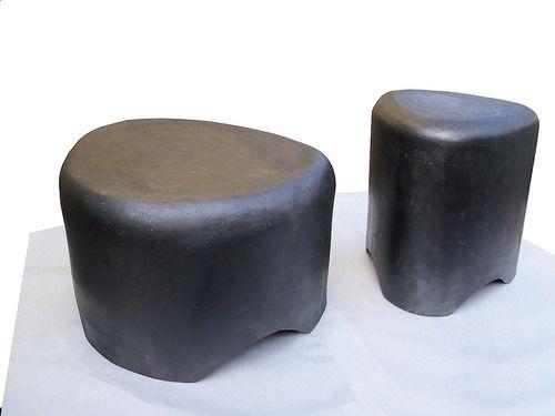 Ciotolo - pouf&small table