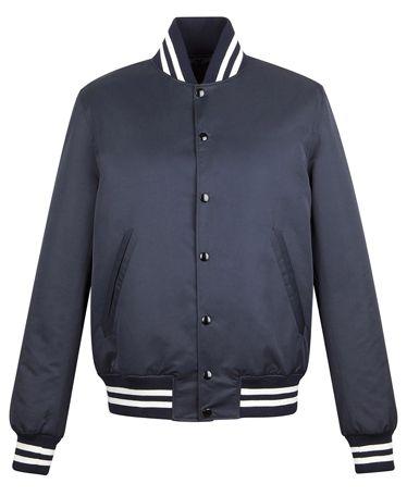 Sandro Yankees Baseball Jacket