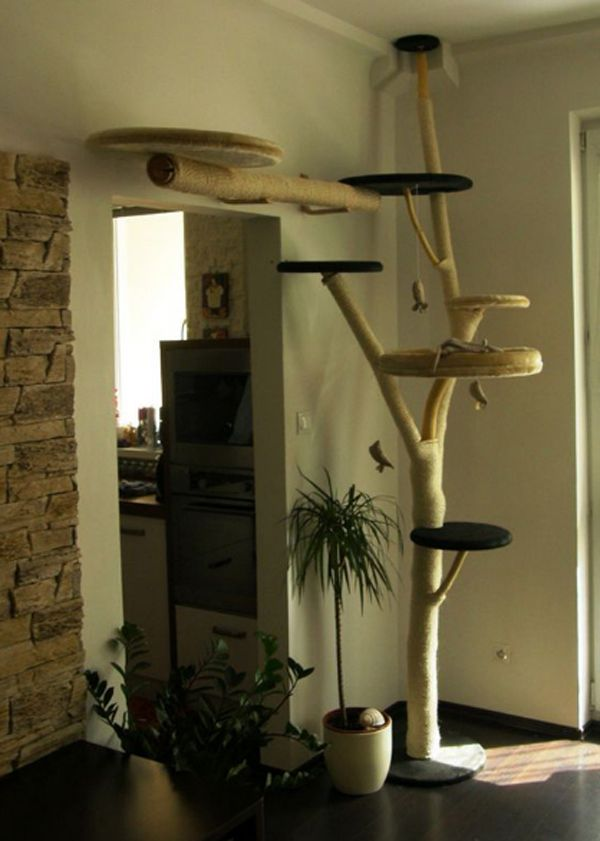 25 Indoor Cat Tree Ideas For Play And Relax Diy Cat Tree Cat Room Cat Tree