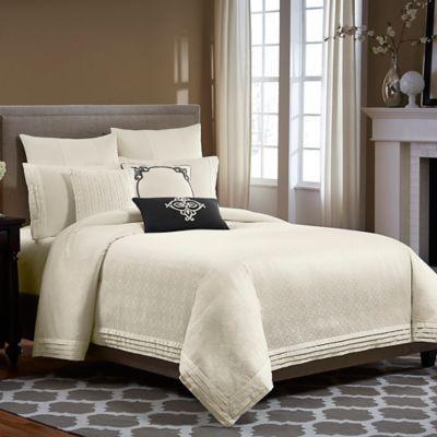Wamsutta® Essex Comforter Set in Ivory - BedBathandBeyond.com