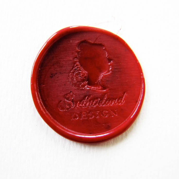 Sutherland Design's Wax Seal For Wedding Envelopes