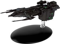 Eaglemoss EMST0099 Star Trek Borg Assimilated Earth Arctic One Transport [With Collector Magazine]