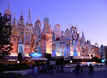 It's a Small World is a popular musical boat ride located in the Fantasyland area at each of the Walt Disney Parks