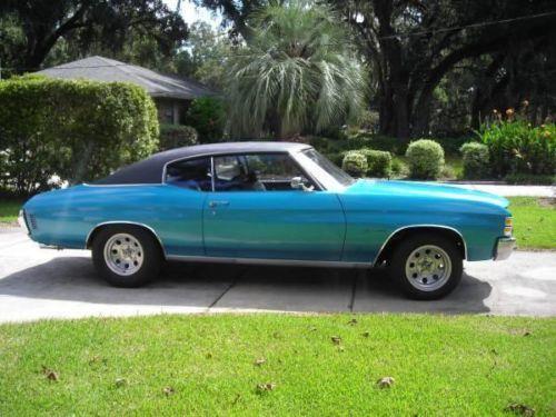 1971 Chevy Malibu for sale (FL) - $17,000 REDUCED PRICE!  Call Steve @ 904-616-7566