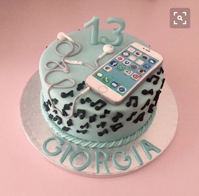 Outstanding Cute Phone Cake With Images 13 Birthday Cake Cakes For Funny Birthday Cards Online Inifodamsfinfo