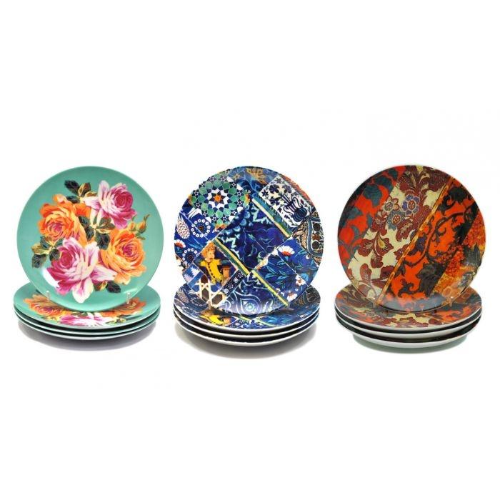 Anna Chandler Dessert Plate Sets