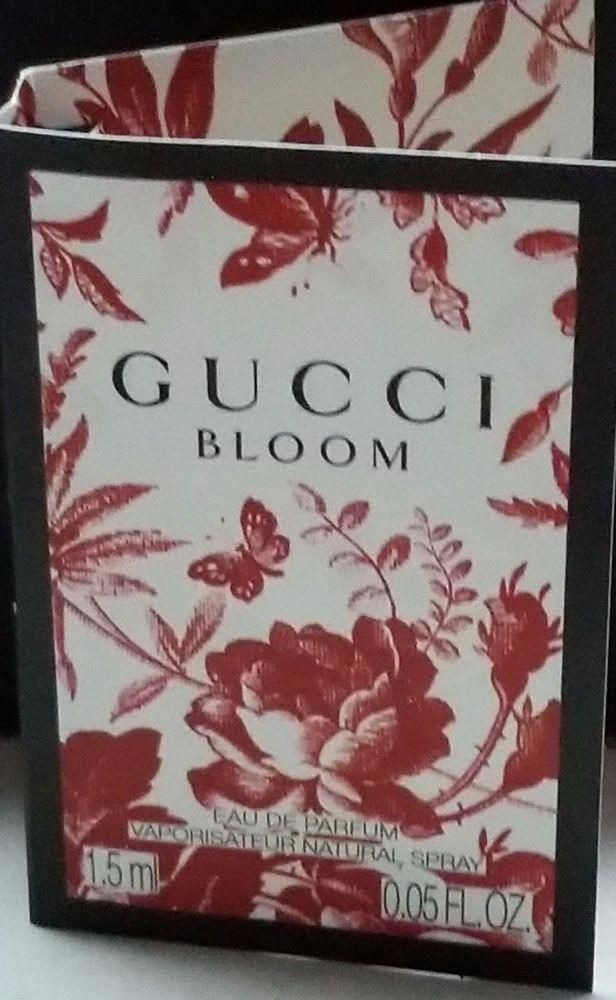 e60f3cfeb Gucci Bloom Eau De Parfum Perfume Fragrance Sample Travel Spray NEW 2017  .05 oz  Gucci  Womenperfumebrands
