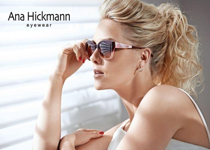 Ana Hickmann eyewear! #Sunglasses #perfectstyle #womensfashion #hickmann Facebook: OpticalHouse Twitter: @OpticalHouseGen Instagram: @OpticalHouseGen