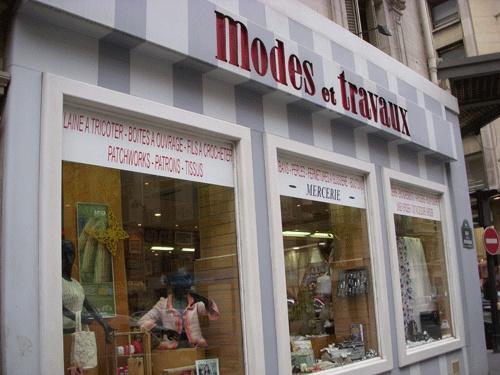 Paris yarn & embroidery shops