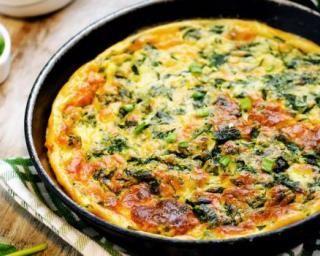 Omelette aux épinards hachés : http://www.fourchette-et-bikini.fr/recettes/recettes-minceur/omelette-aux-epinards-haches.html