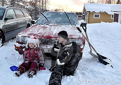 Car In Winter - Download From Over 52 Million High Quality Stock Photos, Images, Vectors. Sign up for FREE today. Image: 17381022