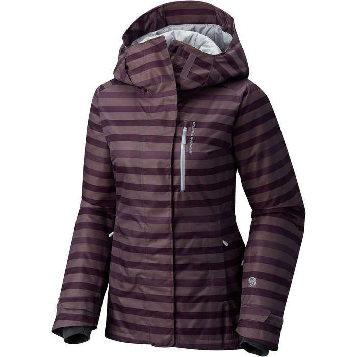 Rank & Style - Mountain Hardwear Barnsie Jacket #rankandstyle