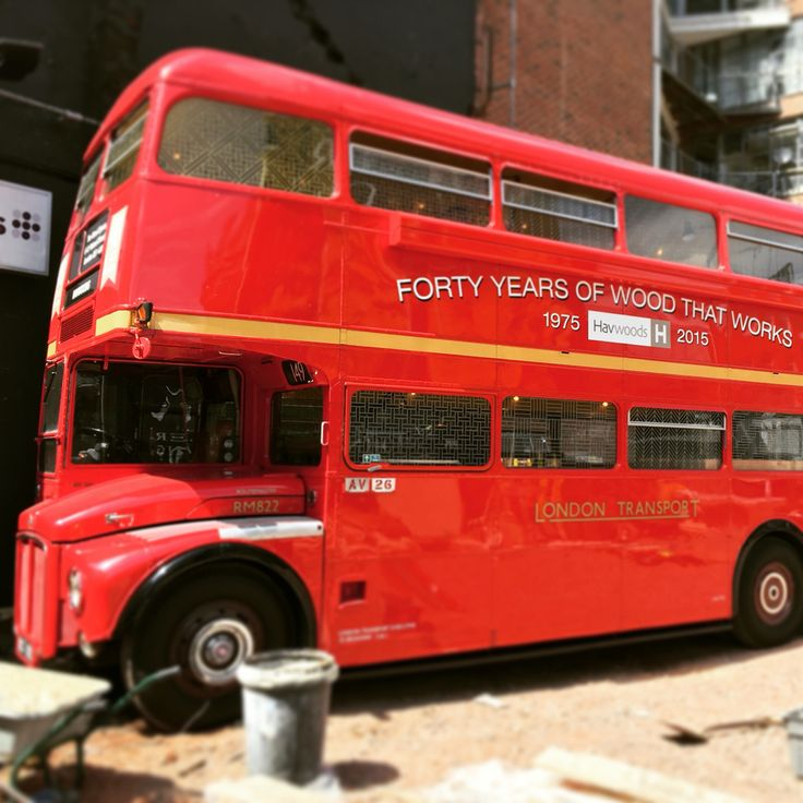 London bus. The old route master