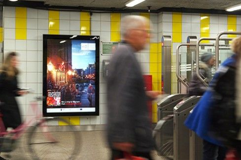 Outdoor campaign promoting Poland on the Dutch market | Link to Poland