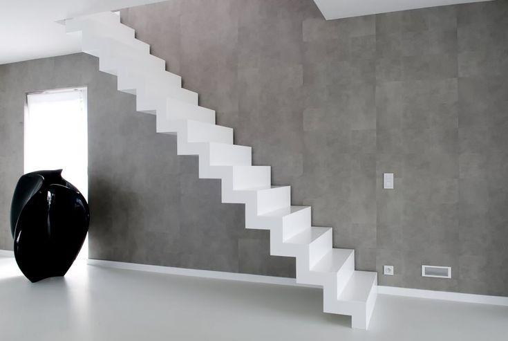 Corian trap gemaakt door het Belgische merk Genico