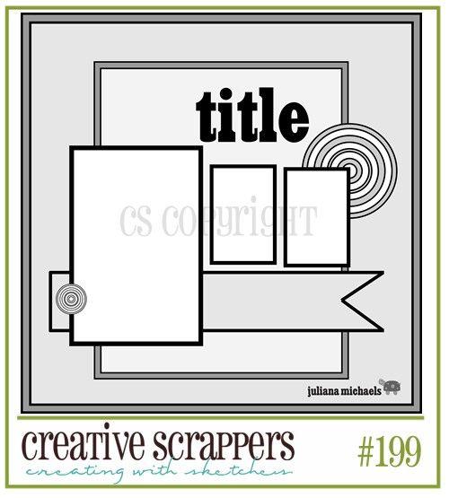 .Scrapbook Ideas, Crafts Ideas, Scrapbook Sketches, Creative Scrapper, Scrapper 199, Layout Sketches, Scrapbook Layout, Scrapper Sketches, Scrap Layout