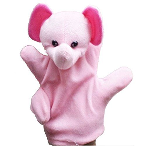 Leegor Baby Child Cute Big Size Hand Dolls Plush Toy Animal Glove Puppet Finger Sack Educational Toys * Want to know more, click on the image.