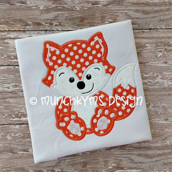 Hey, I found this really awesome Etsy listing at https://www.etsy.com/listing/170671436/fox-boy-applique