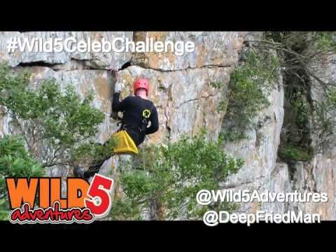 Deep Fried Man completed the #Wild5CelebChallenge and has earned his bragging rights!