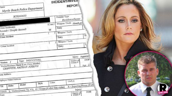 Jenelle Evans Nathan Griffith Fight — 'Teen Mom' Star Wanted For Allegedly Assaulting Ex Fiance In Police Report | Radar Online