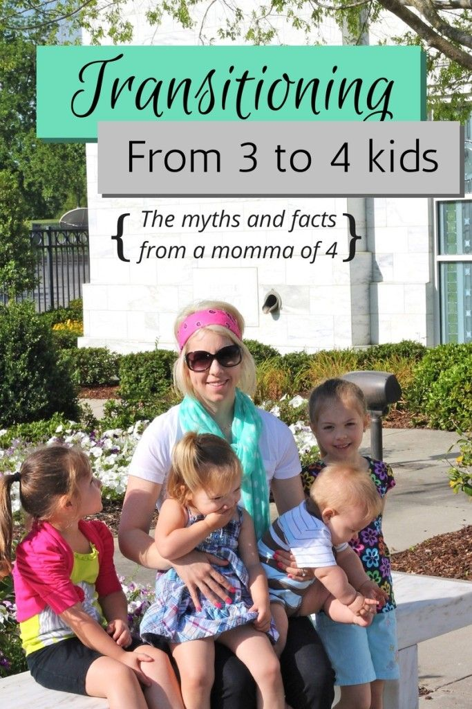 Thinking about having a 4th baby or pregnant with your 4th? Veteran mom, Kristen shares tips, myths, and what to expect with 4 kids!
