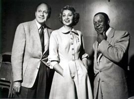 The Jack Benny Program.  Jack's fictionalized version of himself as a crotchety, stingy, vain star is one of the funniest of the classic radio sitcoms.