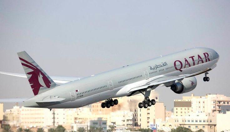 Qatar Airways (QR) take off | Doha International Airport. Airlines operating flights into Doha, Qatar (DOH)