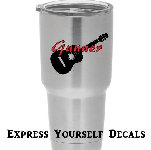 Best Yeti Tervis Stainless Steal Cup Decals Images On Pinterest - Custom vinyl decals for tumblers