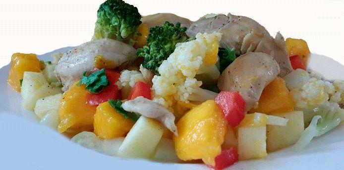 Una receta exquisita perfecta, llena de nutrientes, muy fácil de preparar.
