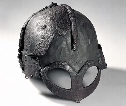 The world's only existing Viking helmet.
