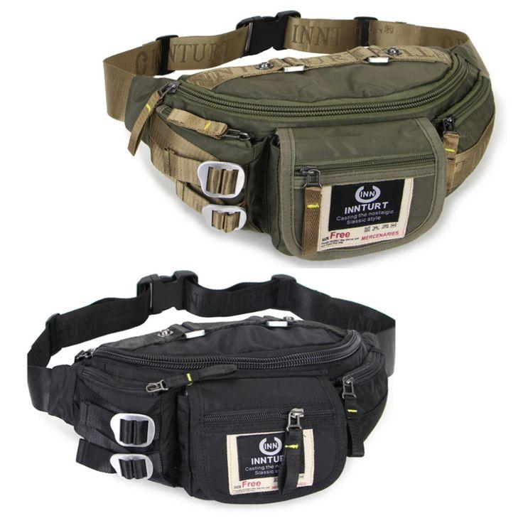 Военных мешок Fanny pack Талия сумка Пояс Кошелек Сумка для Мужчин женщины Черный Зеленый 6488
