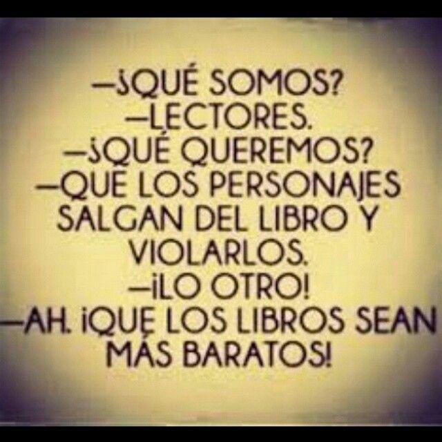 Humor literario. El pensamiento de muchos lectores. #humorliterario #memeliterario #amorporloslibros #lectores