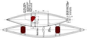 Wooden Dinghy - Radosław Werszko canoe and sailboat plans for free