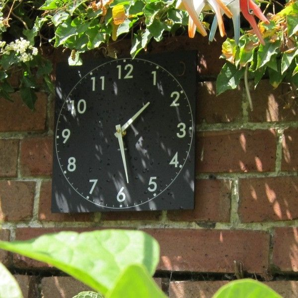 Outdoor Wall Clock. Garden ClocksGarden ...