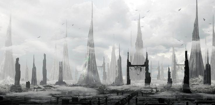 Phantom City by Jean-François Liesenborghs | Sci-Fi | 3D | CGSociety