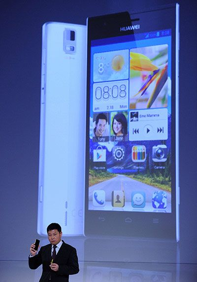 Mobile World Congress: Huawei's Richard Yu presents the Ascend P2