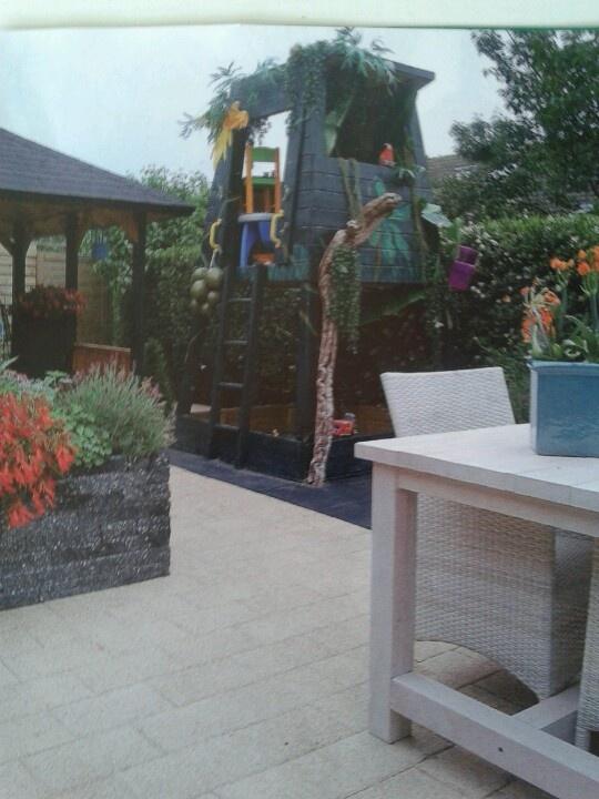 Nog een zandbakhuisje tuin idee n pinterest tuin idee n tuin en idee n - Tuin ideeen ...