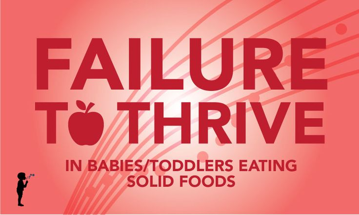 If your baby has failure to thrive please read the first part of this blog post at: What to do if your child drops on their …