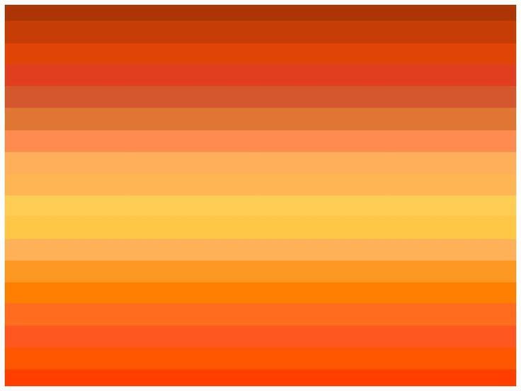 Orange Is Happy Energetic Orange Palette Orange Color