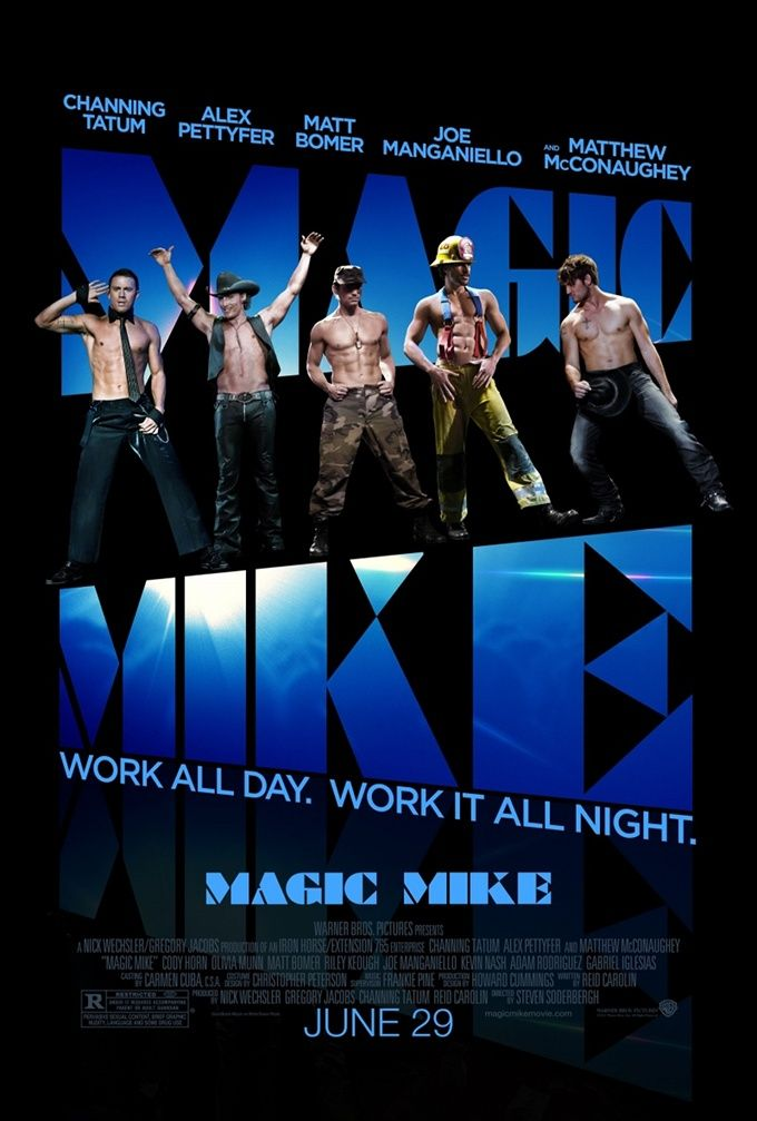 More MAGIC MIKE soft core porn trailers now up on thelowdownunder
