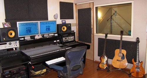 a small in home music studio, originally thought of as part of the creative space.  WHERE it will go - we shall see