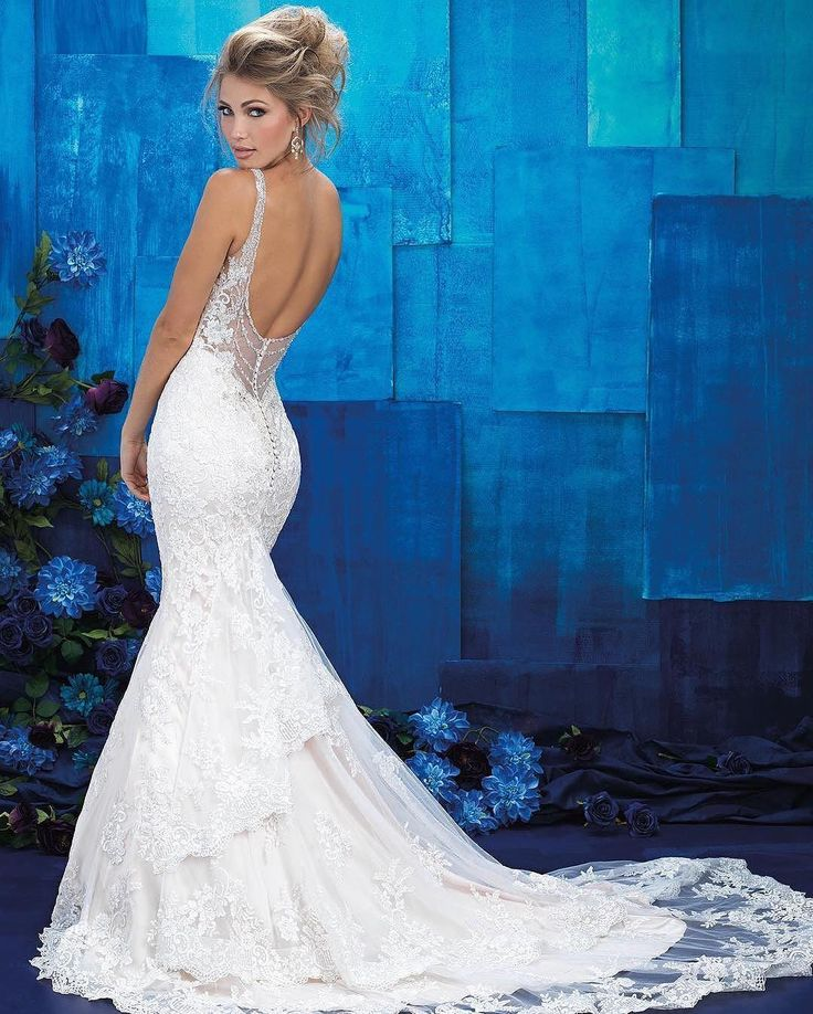 Allure sure knows how to design a sexy wedding gown!  #repost @allurebridals . Featuring: #AllureBridals 9401 with truly incredible back detailing. #weddingdress #bridal  #weddinginspo . #weddingdressshopping #weddinggown #weddingdress #ftbboutique #bridalfashion #bridalstyle #engaged #ftmyersbridalshop #ftmyersbridalboutique #ftmyerswedding #AllureBridals #EssenceOfAustralia #MaggieSottero #CallaBlanche #farage #VenusBridal
