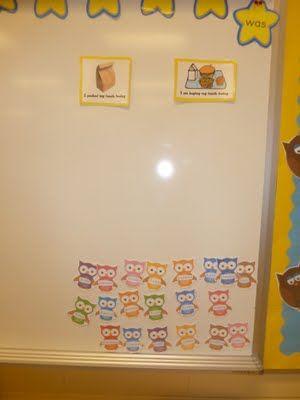 Owls for lunch choices: Owl Stuff, Owl Themes, Little Owl, Kindergarten Classroom, Kindergarten Children, Classroom Owl, Teaching Ideas, Teaching Classroom Ideas, Celebrity Kindergarten