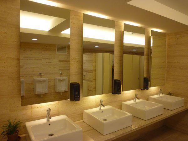 17 Best Commercial Bathroom Ideas On Pinterest Restaurant Bathroom Restroom Design And