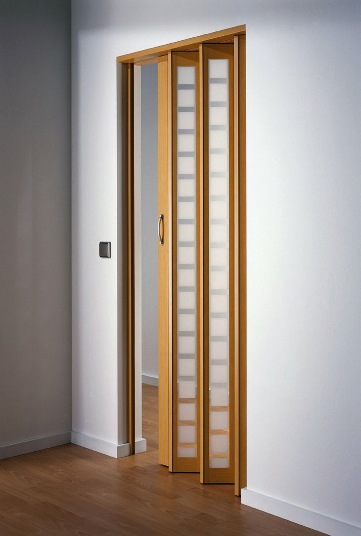 Great contemporary design on this Visio™ Beech accordion door. From the Panelfold Nuvo Designer Series Gallery