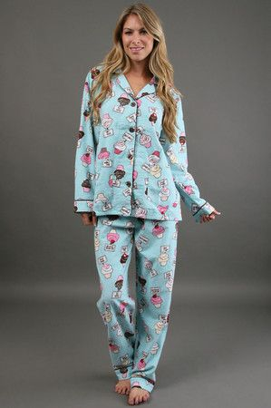 The Cupcake Pajama Set by P.J. Salvage at CoutureCandy.com