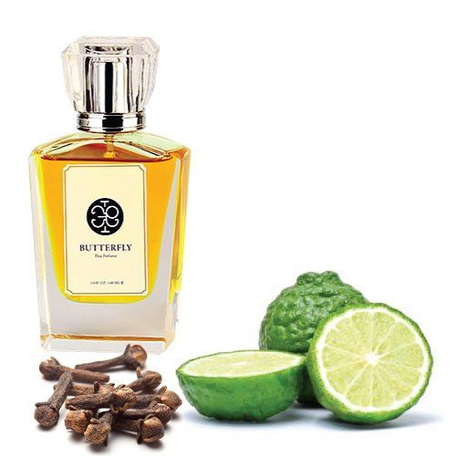 Thai Perfume, Bergamot & Clove Bud Scent (Eau De Parfum for Unisex with Original Thai Classic Style Scent, the Most Unique and Amazing) (60 ml.). Main Accords : Citrus, Aromatic, Herb, Spicy, Wood. Top Note : Bergamot, Lime, Kaffir Lime Leaves. Middle Note : Clove Bud, Cinnamon, Nutmag. Base Note : Agar Wood, Benzoin, Saffron. Ambergris.
