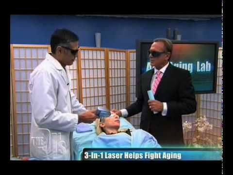 Dr. Grover Demonstrates Triniti Laser on The Doctors TV
